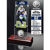 The Highland Mint Dallas Cowboys Jason Witten Ticket and Coin Desktop Display