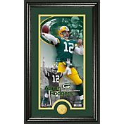 The Highland Mint Green Bay Packers Aaron Rodgers Framed 'Supreme' Bronze Coin Photo Mint