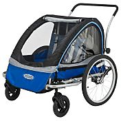 InSTEP Rocket Double Bike Trailer and Stroller