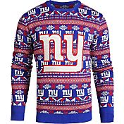 KLEW Men's New York Giants Aztech Ugly Sweater