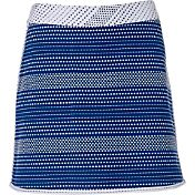 Lady Hagen Women's Bon Voyage Collection Two Tone Jacquard Golf Skort