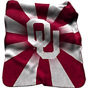 Oklahoma Sooners Sherpa Throw Blanket