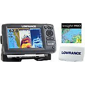 Lowrance Hook-7 GPS Fish Finder Combo with Lake Insight and Sun Cover