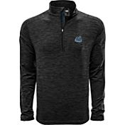 Levelwear Men's Old Dominion Monarchs Grey Armour Quarter-Zip Shirt