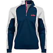 Levelwear Men's Utah Utes Red Freeport Quarter-Zip