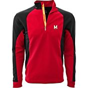 Levelwear Men's Ole Miss Rebels Blue Freeport Quarter-Zip