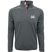 Levelwear Men's Mississippi State Bulldogs Grey Metro Quarter-Zip