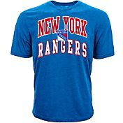 Levelwear Men's New York Rangers Performance Arch Royal T-Shirt