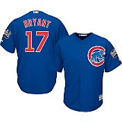 Majestic Men's 2016 World Series Replica Chicago Cubs Kris Bryant #17 Cool Base Alternate Royal Jersey