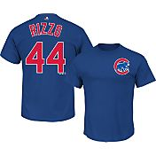 Majestic Men's Chicago Cubs Anthony Rizzo #44 Royal T-Shirt