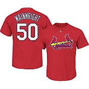 Majestic Men's St. Louis Cardinals Adam Wainwright #50 Red T-Shirt
