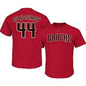 Majestic Men's Arizona Diamondbacks Paul Goldschmidt #44 Red T-Shirt