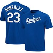 Majestic Triple Peak Men's Los Angeles Dodgers Adrian Gonzalez Royal T-Shirt