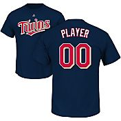 Majestic Men's Full Roster Minnesota Twins Navy T-Shirt