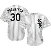 Majestic Men's Replica Chicago White Sox David Robertson #30 Cool Base Home White Jersey