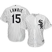 Majestic Men's Replica Chicago White Sox Brett Lawrie #15 Cool Base Home White Jersey