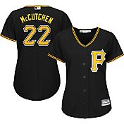Majestic Women's Replica Pittsburgh Pirates Andrew McCutchen #22 Cool Base Alternate Black Jersey
