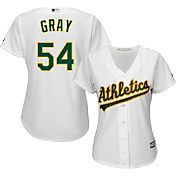 Majestic Women's Replica Oakland Athletics Sonny Gray #54 Cool Base Home White Jersey