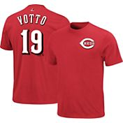 Majestic Youth Cincinnati Reds Joey Votto #19 Red T-Shirt