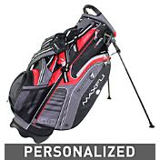 Maxfli U/Series 5.0 Personalized Stand Bag - Black/Red