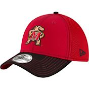New Era Men's Maryland Terrapins Team Front Red/Black Neo 39Thirty Hat