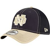 New Era Men's Notre Dame Fighting Irish Navy/Gold Team Front Neo 39Thirty Hat