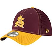 New Era Men's Arizona State Sun Devils Maroon/Gold Team Front Neo 39Thirty Hat