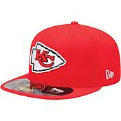 New Era Men's Kansas City Chiefs Sideline Authentic 59Fifty Red Fitted Hat