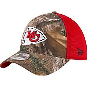 New Era Men's Kansas City Chiefs Real Tree Neo 39Thirty Camouflage Flex Hat