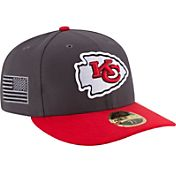 New Era Men's Kansas City Chiefs Crafted in America 59Fifty Graphite Fitted Hat