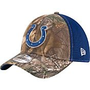 New Era Men's Indianapolis Colts Real Tree Neo 39Thirty Camouflage Flex Hat