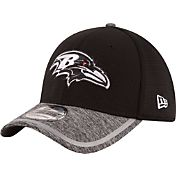 New Era Men's Baltimore Ravens 2016 Training Camp 39Thirty Black/White Flex Hat