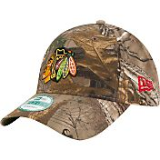 New Era Men's Chicago Blackhawks 9Forty The League Real Tree Camo Adjustable Hat