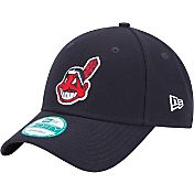New Era Youth Cleveland Indians 9Forty Navy Adjustable Hat