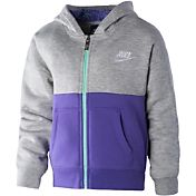 Nike Little Girls' Club AOP Full-Zip Jacket