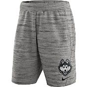 Nike Men's UConn Huskies Heathered Grey Fleece Basketball Shorts