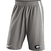 Nike Men's Georgia Bulldogs Grey Champ Drive Untouchable Shorts