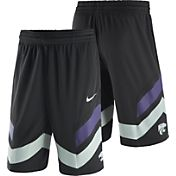 Nike Men's Kansas State Wildcats Replica Basketball Black Shorts