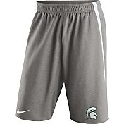 Nike Men's Michigan State Spartans Grey Champ Drive Untouchable Shorts