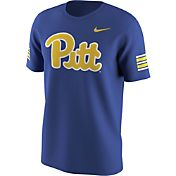 Nike Men's Pitt Panthers Retro Blue Throwback Uniform Hook T-Shirt