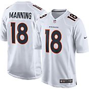 Nike Men's Away Game Jersey Denver Broncos Peyton Manning #18