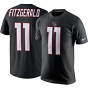 Nike Men's Arizona Cardinals Larry Fitzgerald #11 Pride Black T-Shirt