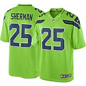 Nike Men's Color Rush 2016 Limited Jersey Seattle Seahawks Richard Sherman #25