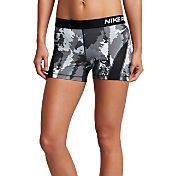 Nike Women's 3'' HyperCool Oil Glitch Printed Compression Shorts