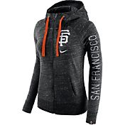Nike Women's San Francisco Giants Vintage Black Full-Zip Hoodie