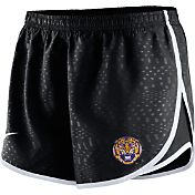 Nike Women's LSU Tigers Black Modern Tempo Shorts