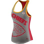 Nike Women's Kansas City Chiefs Touchdown Grey Tank