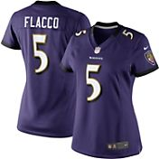 Nike Women's Home Limited Jersey Baltimore Ravens Joe Flacco #5