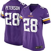 Nike Women's Home Game Jersey Minnesota Vikings Adrian Peterson #28