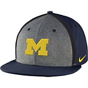Nike Youth Michigan Wolverines Blue/Grey Sideline True Adjustable Performance Hat